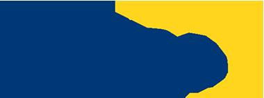 Logo EPTDA, una scritta in grassetto maiuscola  e leggermente italico in blu scuro